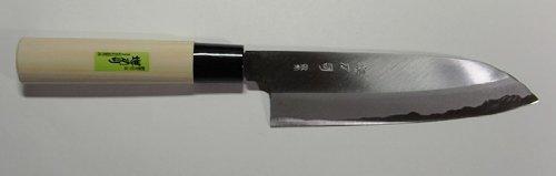 Sakaigatana Tsukasa Tsukuru Shigemitsu Santoku kitchen knife 18cm