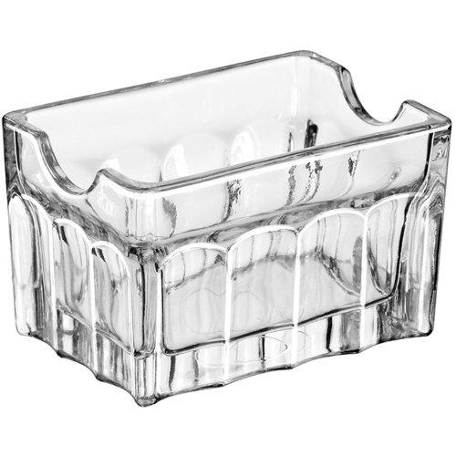 LIB5258 - Libbey glassware Gibraltar Sugar Packet Holder - 3-12in