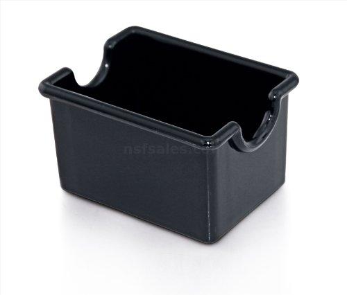 New Star Foodservice 28430 Plastic Sugar Packet Holder Black Set of 12