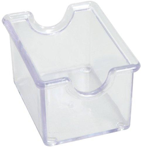 Winco 12-Piece Clear Sugar Packet Holder
