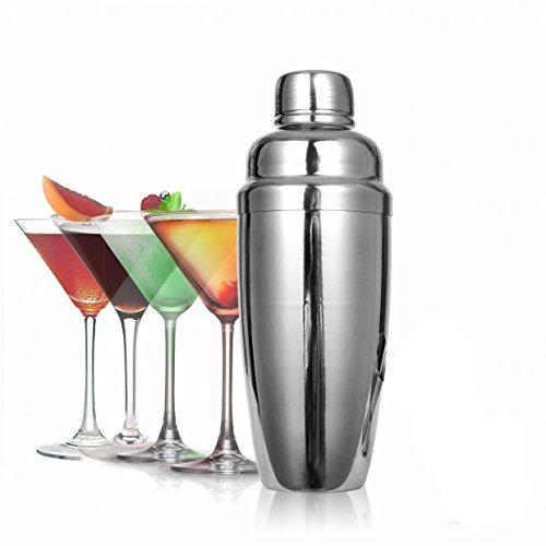 TIENO Professional Cocktail Shaker Kit 24 Ounces Large Martini Cocktail Shaker