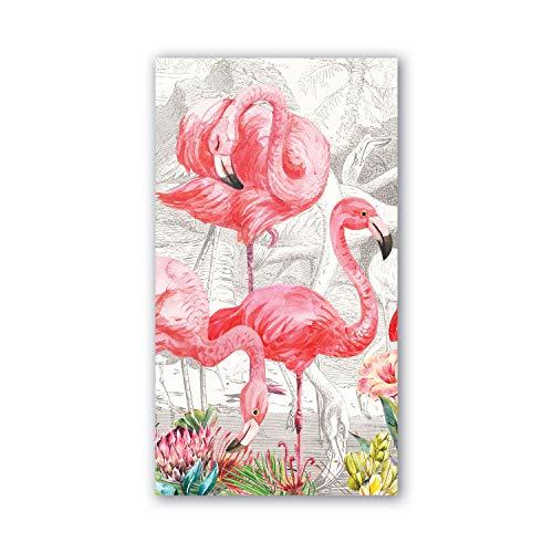 Michel Design Works Hostess Napkins Flamingo
