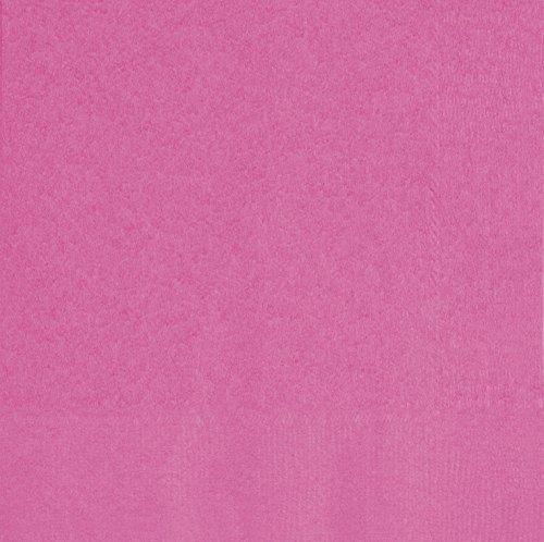 65 Hot Pink Paper Napkins by Unique Party