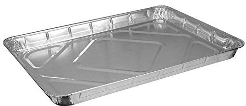 HFA 2063 Half-Size Aluminum Foil Baking Sheet Cake Pans Take Out Baking Disposable Foil Containers 100