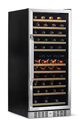 NewAir AWR-1160DB Wine Cooler 116 Bottle Stainless SteelBlack