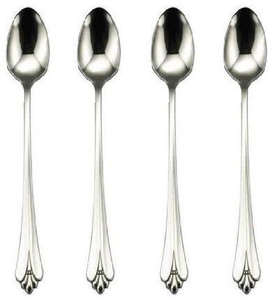 Oneida Royal Flute Iced Tea Spoon Set of 4