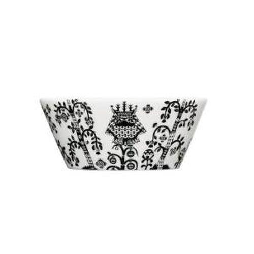 Iittala Taika SoupCereal Bowl Black 10-Ounce