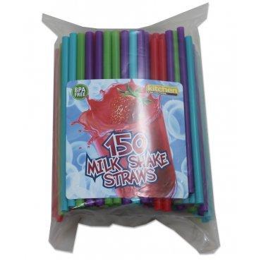 Kitchen Collection 150 Count Milkshake Straws