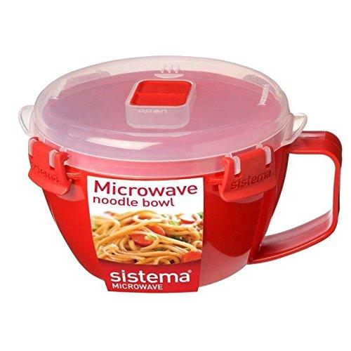 Sistema - Microwave Noodle Bowl 875Ml Pack of 2