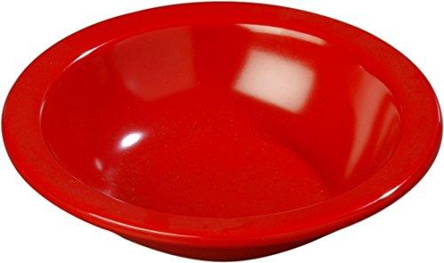 Carlisle 4352905 Dallas Ware Melamine Grapefruit Bowl 10oz Capacity 595 Diameter x 154 Depth Red Case of 48