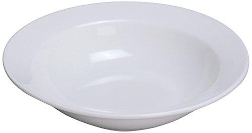 Yanco MM-10 Miami 675 Grapefruit Bowl 115 oz Capacity Porcelain Bone White Pack of 36