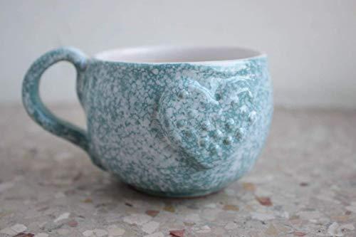 Espresso Mug Blue Heart