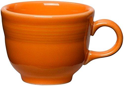 Fiestaware 8oz Coffee Cupteacup - Tangerine Orange - 452325