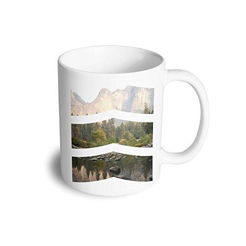 Chevron Photo Image Cool Design Photography Picture Geometric Ceramic Mug