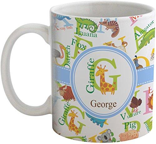 Animal Alphabet Coffee Mug Personalized