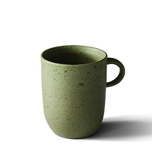 Handmade stoneware coffee mug set simple mug teacup-A