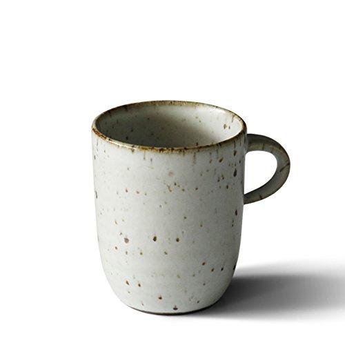 Handmade stoneware coffee mug set simple mug teacup-B