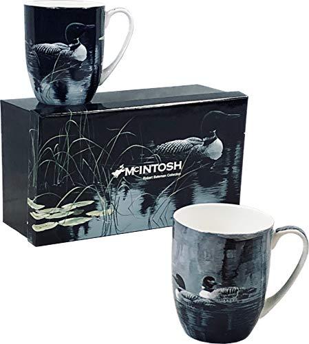 Robert Bateman Loons Set of 2 Mug Set